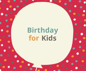 Birthday for Kids
