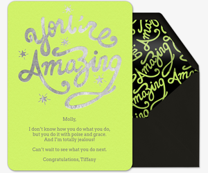 Amazing Invitation