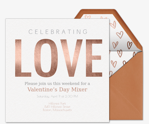 Celebrate Love Invitation