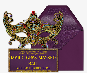 Venetian Ball Invitation