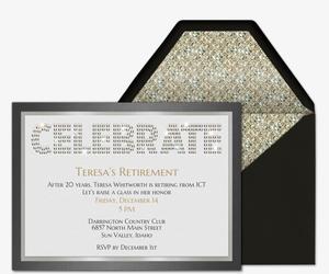 Birthday Milestones free online invitations