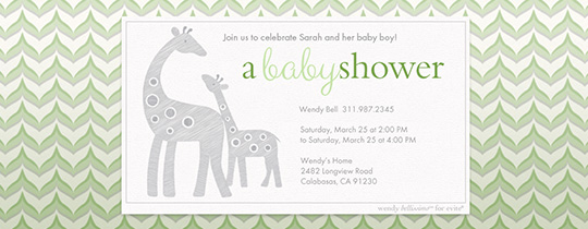 baby, baby shower, giraffe, giraffes, baby boy, boy, animal, animals, bellissimo, wendy bellissimo,