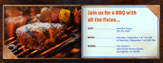 barbecue, barbeque, bbq, chicken, cookout, grill, grilling, menu