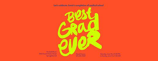 graduation, graduate, 2014, cap and gown, grad, neon, medical school, school, college, high school
