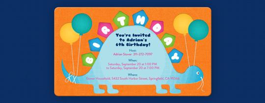 balloons, birthday, dino, dinosaur, stegosaurus