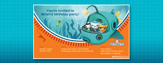 octonauts, birthday