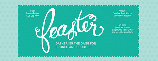 easter, friends, feaster, brunch, easter brunch, teal, aqua