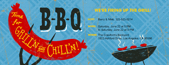 BBQ, Outdoor fun, Grill, Chill, food, sausages, pitchfork