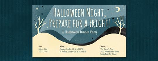 fright, fright night, halloween, moon, night, sky, spooky, stars, tree