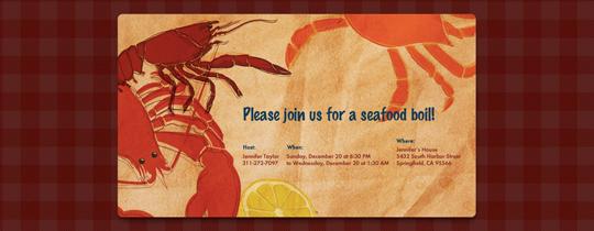 bbq, boil, crab, lemon, lobster, picnic, seafood, seafood boil, crawfish, crawfish boil,