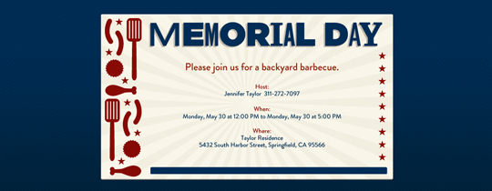 bbq, grill, memorial day
