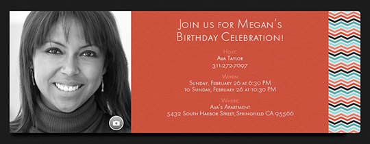 Party Lines Invitation