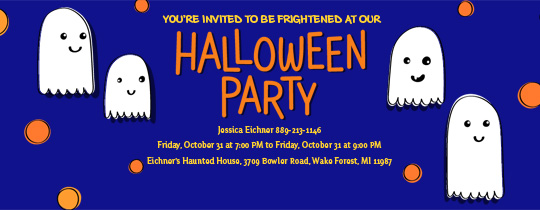 ghost, ghosts, halloween party, halloween, haunted house, haunted, orange