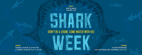 shark, jaw, sharks, shark week, viewing party, watch party