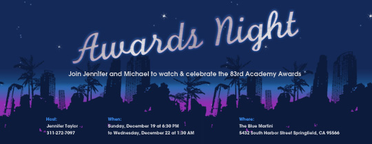 awards, emmy, golden globes, grammy, hollywood, movie, night, oscar, palm trees, party, skyline, vma