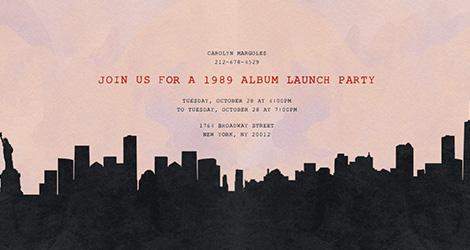 NY Cityscape Invitation