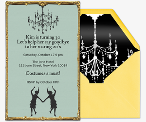 Roaring 20s Invitation