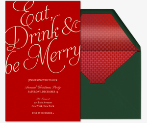 Office Holiday Party Online Invitations Evitecom - Office holiday party invitation template