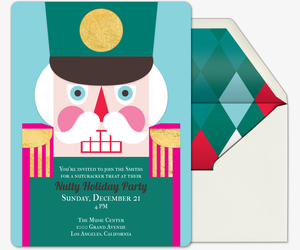 Meri Nutcracker Invitation