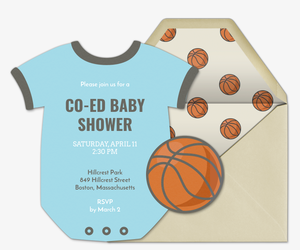 Onesie Jersey Invitation