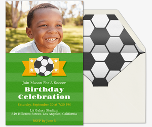 Soccer free online invitations soccer emblem invitation filmwisefo Image collections