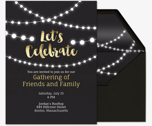 Celebrate It Invitation Templates with beautiful invitation template