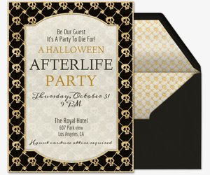 Día De Los Muertos Free Online Invitations - Day of the dead party invitation template
