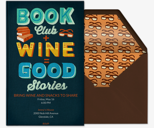 Book Club Invitation
