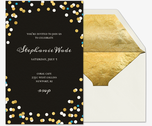 Graduation party online invitations evite confetti love graduation invitation filmwisefo Images