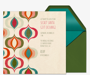 Esquivel's Ornaments Invitation