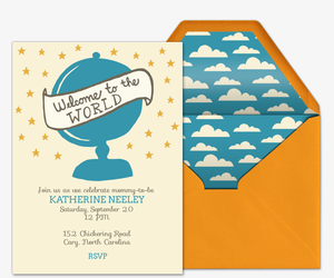 Welcome Baby Invitation