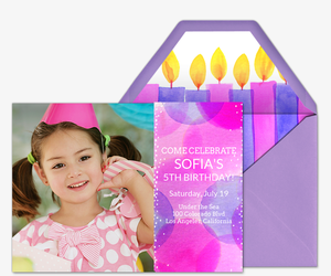 Babys First Birthday Invitation Party Ideas Evite - First birthday invitation card images