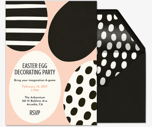 Eggspress Yourself Invitation