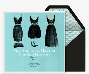 Mix Mingle Martini Invitation