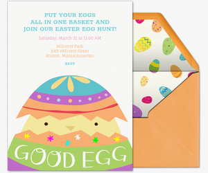 Good Egg Invitation