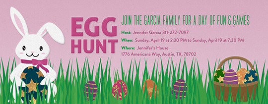 Bunny Fun Invitation
