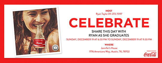 Share a Celebration Invitation