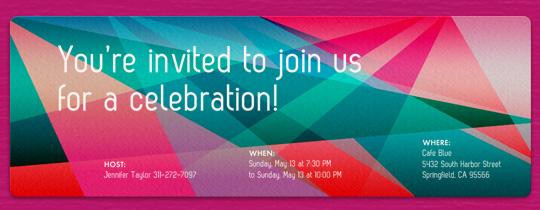 Facets Invitation