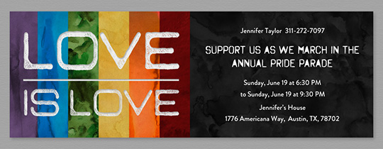 loveislove Invitation