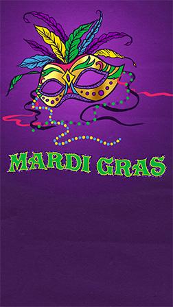 Mardi Gras Template from g3.evitecdn.com