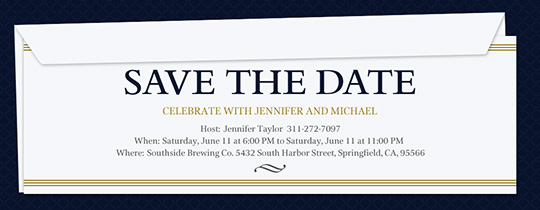 Save the Date Invitation Invitation