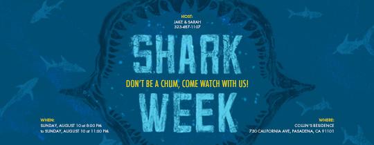 Shark Jaw Invitation