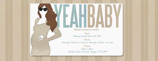 Yeah Baby Invitation